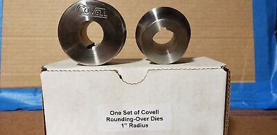 "Set of Covell 1"" Rounding-over Die. Forming-Autobody-Fabricate"