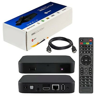5 pack Infomir Mag 322 W1 *IPTV Set top box BRAND NEW built in wifi and hdmi
