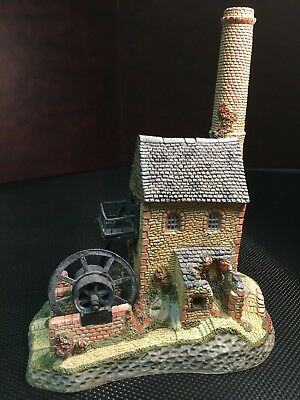 DAVID WINTER COTTAGES - THE CORNISH ENGINE HOUSE 1987 - Original Box - COA