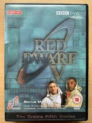 Craig Charles Chris Barrie RED DWARF SEASON 5 ~ BBC Cult Sci-Fi Series UK DVD V