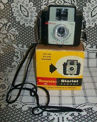 1965 VINTAGE KODAK 'BROWNIE STARLET' CAMERA original box (no product leaflet)