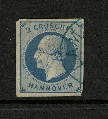 Hanover SC# 20, Used, tiny side nick (Noted Mi# 15a) - S3739