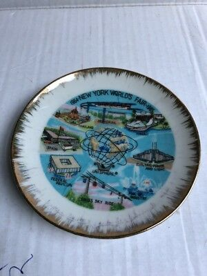 New York World's Fair 1964-1965 Souvenir Collector Plate