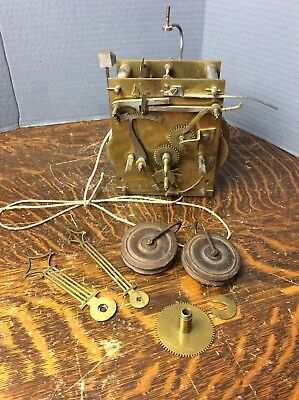 Good Quality European 8 day Weight Driven Tall Case Clock Movement, Parts/Repair