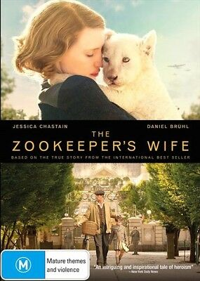 The Zookeepers Wife : NEW DVD : Zookeeper's