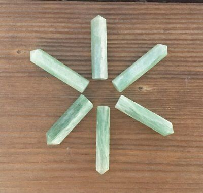 Natural Amazonite Single Terminated Gemstone Crystal Pencil Point (One)