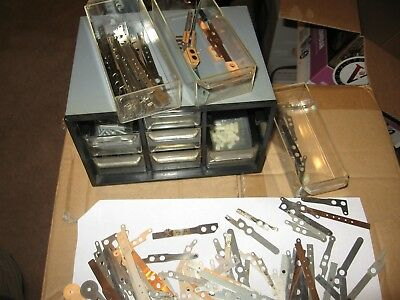 Lot Of Williams,stern,bally Pinball Video Game Contact Blades Assembly Kit Parts