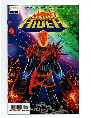 COSMIC GHOST RIDER (2018) #1 1st Print Cover A Solo Series Thanos Punisher