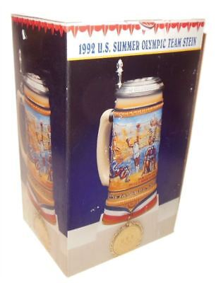 1992 Barcelona Summer Olympic Games Stein By Anheuser-Busch, Inc. Mint in Origin