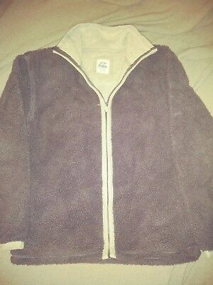 Boys Mini Boden Lined Fleece jacket Coat Sz 11 12