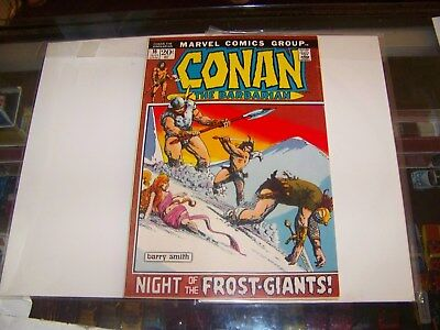 """Conan The Barbarian # 16 Jul. 1972 -- BARRY SMITH art !! """"FROST GIANT'S DAUGHTER"""