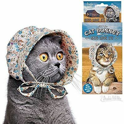 Cat Bonnet! - Bonnet Hat for Your Kitty Cat!