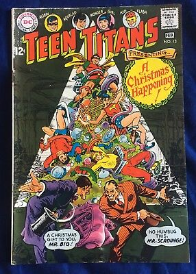Teen Titans #13 (Jan-Feb 1968, DC) FN