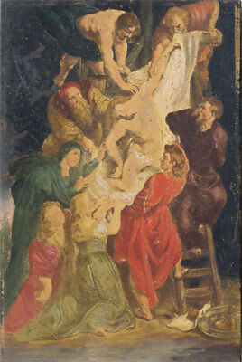 Mid 20th Century Mixed Media - Descent from the Cross