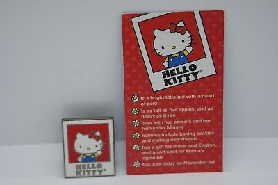 Sanrio Friend Of The Month Pin Hello Kitty November 2016 Authentic From Sanrio
