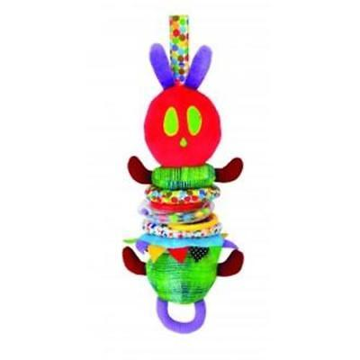 NEW The Very Hungry Caterpillar Wiggly Jiggly Hanging Cot / Pram Toy