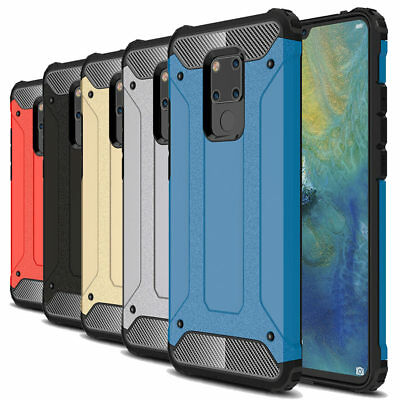 Shockproof Tough Hybrid Bumper Armor Protective Cover Case For Huawei Mate 20X