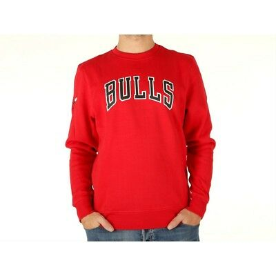 NEW ERA NBA - Felpa Girocollo Chicago Bulls - Nero - 11605648 - EUR ... 0455c9a79190