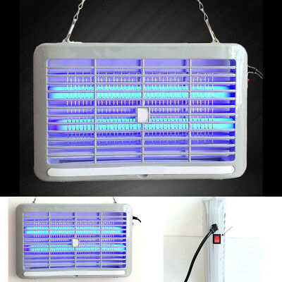 Electric UV Insect Killer Mosquito Pest Fly Bug Zapper Catcher Trap LED Light 1x