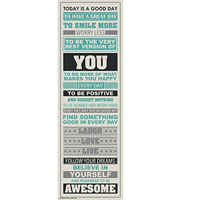 Be Awesome Inspirational Motivational Happiness Quotes Decorative Poster Print V