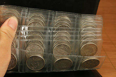 nice 120 pieces Iron Plating Silver Coins chinese qing dynasty statue collect