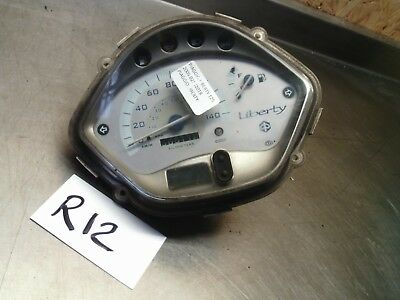 2005 Piaggio Liberty 125 Clocks speedometer instrument panel 56511 Km *R12*