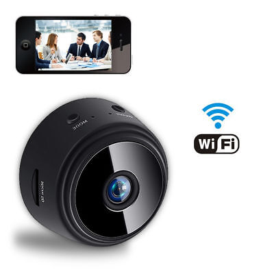 1080P Wireless Wifi Cam Camera Mini HD Security Detects Motion Spy Night Vision