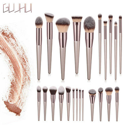Wooden Foundation Cosmetic Eyebrow Eyeshadow Brush Makeup Brush Sets Tools