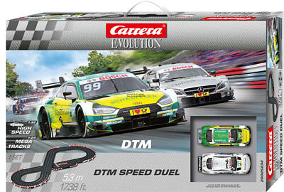 Carrera 25234 - Evolution DTM Vitesse Duel Piste de Course Kit Complet