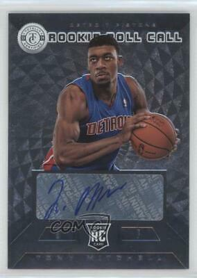 2013 Totally Certified Rookie Roll Call Signatures Silver #34 Tony Mitchell Auto
