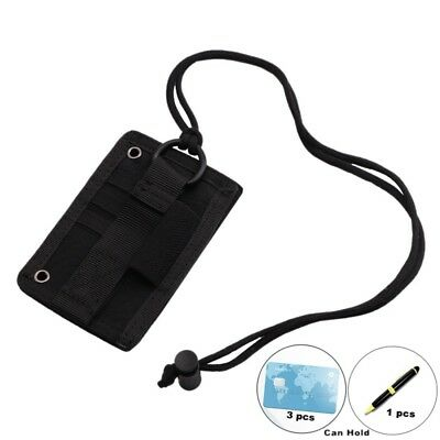 New Work ID Badge Credit Card Holder Case Retractable Lanyard Neck Strap Band AU
