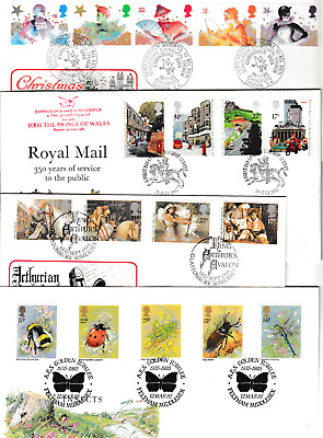 1985  Full Year GB First Day Covers