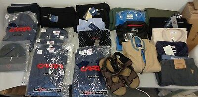 Job Lot JOBLOT Wholesale BNWT mens clothing BRAND NEW RESELL CARBOOT TRADER 003