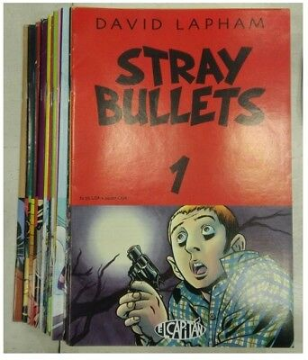 Stray Bullets, Issues 1-20, by David Lapham, El Captain