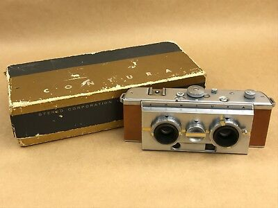 Contura Stereo Vintage Camera w/35mm F/2.7 Volar Lens w/ Original Box -Very Rare
