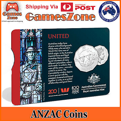 Official 2018 ANZAC Spirit Coin Collection - United Free Postage