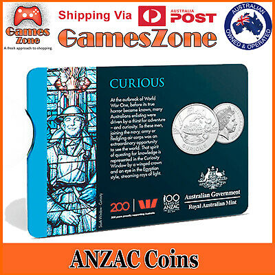 Official 2018 ANZAC Spirit Coin Collection - Curious Free Postage