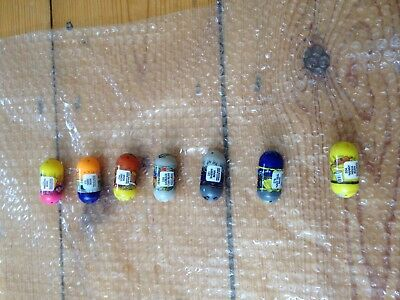 Mighty Beanz Collectible Bundle of 7 Beans from 2010 Series 3