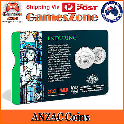 Official 2018 ANZAC Spirit Coin Collection - Enduring Free Postage