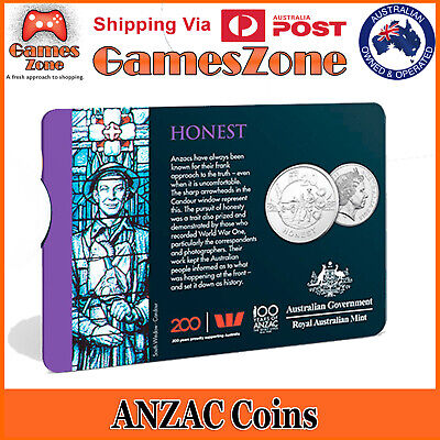 Official 2018 ANZAC Spirit Coin Collection - Honest Free Postage