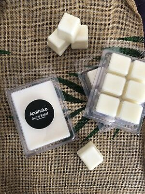 Wax Melts SINUS RELIEF Highly Scented - Natural Soy Wax