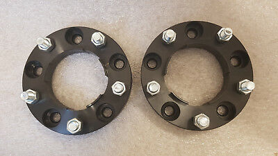 BLACK Land Rover Defender 30mm Alloy Anodised Wheel Spacers