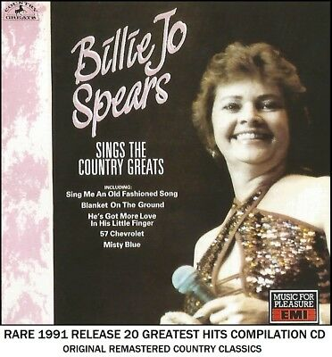 Billie Jo Spears - The Very Best 20 Greatest Hits Collection CD - Country Music