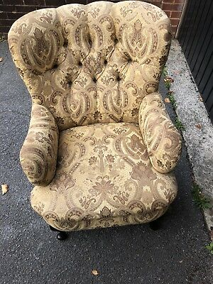 Super Pair Of  Quality  Buttoned Back  Chairs