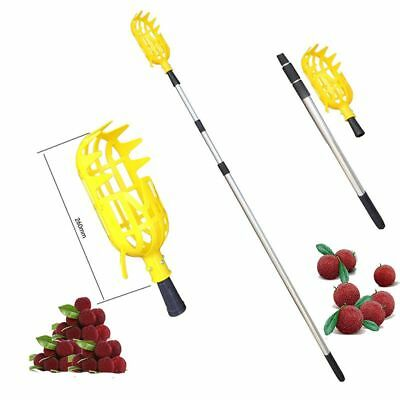 Picking Tool New Practical Gardening Plastic Fruit Picker Catcher Without Pole