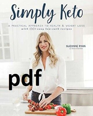 (PDF) Simply-Keto-by-SUZANNE-Ryan-of-Keto-Karma-1-Minute-Delivery-EB00k-PDF  !