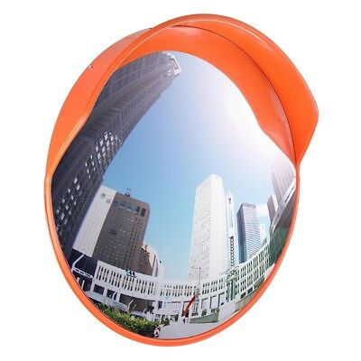"12 24"" Wide Angle Security Convex PC Mirror Outdoor Road Traffic Driveway Safety"