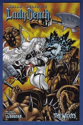 Lady Death : The Wicked #1/2   Hellcat 1/1000 Variant 2005 Avatar