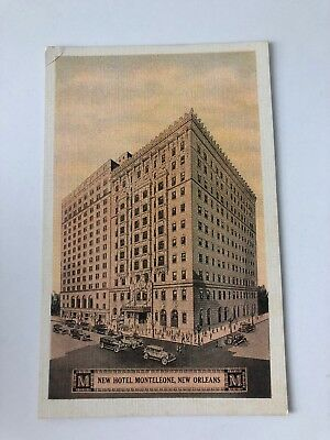 Louisiana LA Hotel Monteleone New Orleans Postcard Old Vintage Card View Post PC