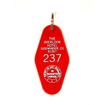 The Shining, Overlook Hotel Room 237 - Key Ring - Genuine UK Seller
